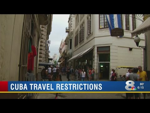 Cuba travel restrictions