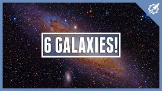 6 Galaxies In OUR Universe! | Astronomic