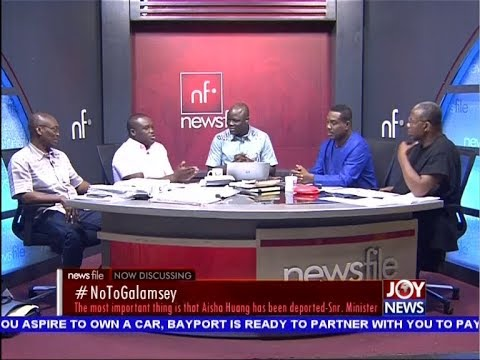 #NoToGalamsey - Newsfile on JoyNews (20-4-19)