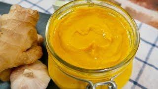 أضيفوا هذا المعجون السحري اثناءالطبخ وشاهدوا النتيجة بانفسكم ginger garlic paste _english subtitle