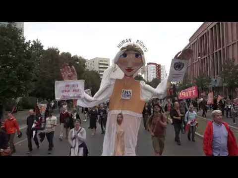 """320.000 fordern """"CETA und TTIP stoppen"""" - sieben Demonstrationen am 17.09."""