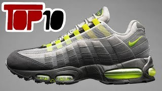 Top 10 Nike Air Max 95 Shoes Of 2018