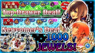 Kairi/Xion EX For 1000 Jewels A Day ~ Copycat Medals 1500 Jewels! KH Union χ[Cross]