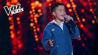 Gambar cover Juanse Laverde canta Cómo Mirarte - Audiciones a ciegas | La Voz Kids Colombia 2018