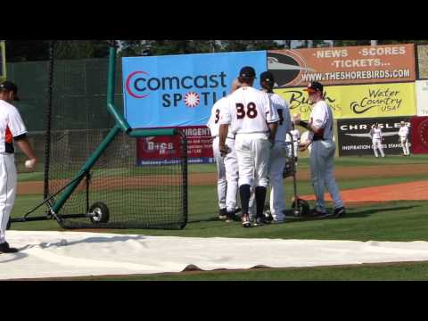 South Atlantic League All Star Game batting practice 2011