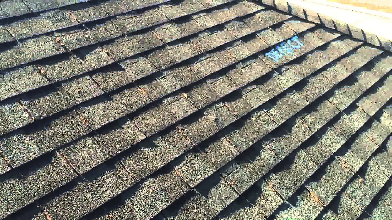 Manufacturing Defect On Certainteed Horizon Shingles Youtube