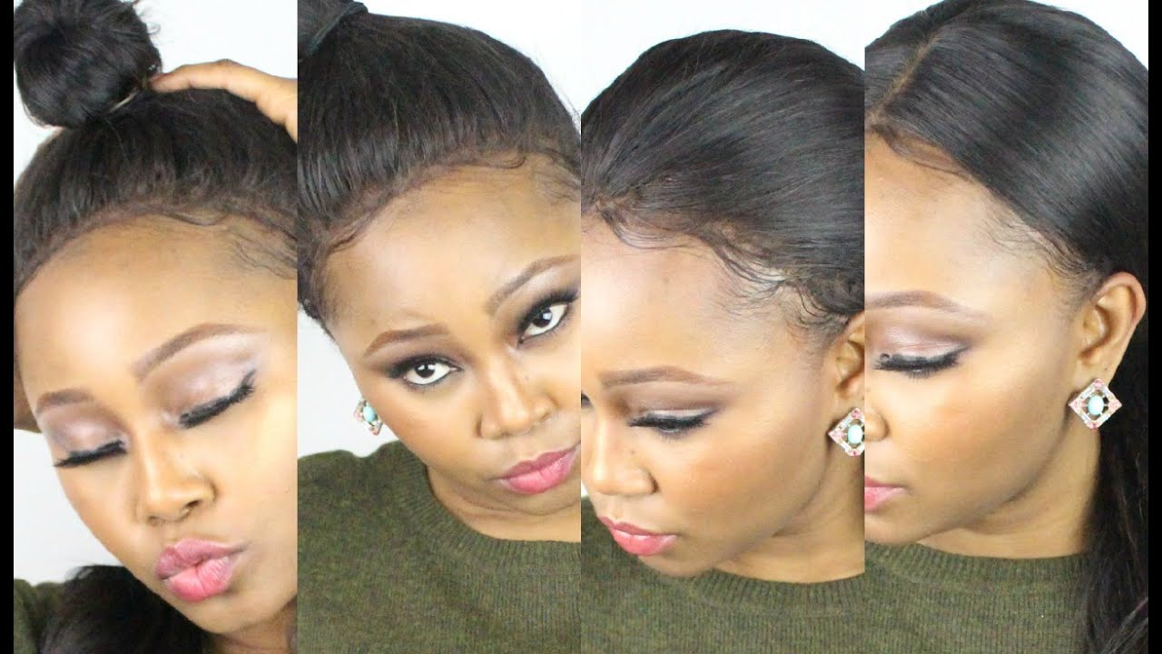 Chrissy Bales How To Style A Lace Frontal 14 Hairstyles