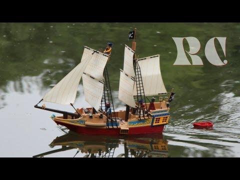 Playmobil RC Piratenschiff mit Ballastgewicht