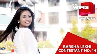 Miss Nepal 2016 Contestant 14 Barsha Lekhi
