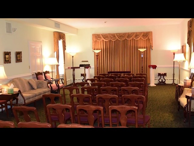 Funeral Home A/V Upgrade - Holcombe-Fisher Funeral Home Testimonial