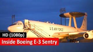 Boeing E-3 Sentry - Inside, takeoff, flight - Aircraft Technology