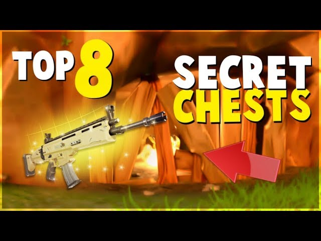 TOP 8 HIDDEN SECRET Chests and Locations FORTNITE Battle Royale Tips and Tricks