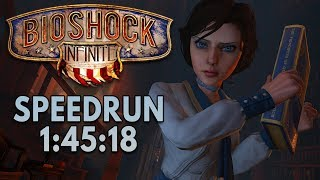 Bioshock Infinite (HRH Mod) Speedrun in 1:45:18 [Personal Best]