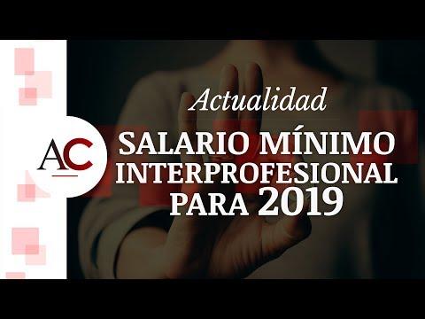 ⚠️ ¿Aumenta Realmente El Salario Mínimo Para 2019 En España?