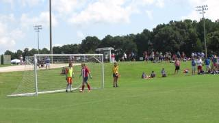 RYSA Fall Kickoff 2013 - Game 3- (Kicks from the mark)
