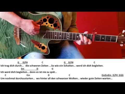 Durch die schweren Zeiten - Udo Lindenberg /Guitar/Tutorial/Lyrics/Cover/Chords easy