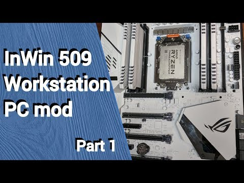 Project Purity - Modding an InWin 509 workstation PC