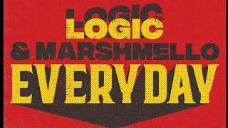 Marshmello & Logic - Everyday (Bass Boosted)