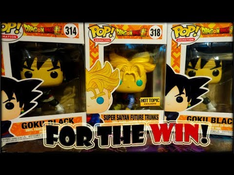 FUNKO POP HUNTING FOR THE WIN! / DRAGON BALL Z EXLCUSIVE
