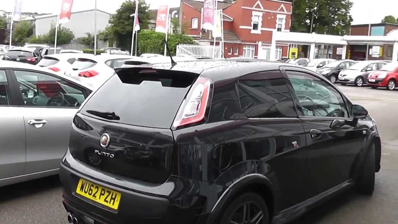 Used Car Abarth Punto Evo Black Wupzh Wessex Garages Feeder Road Bristol Youtube