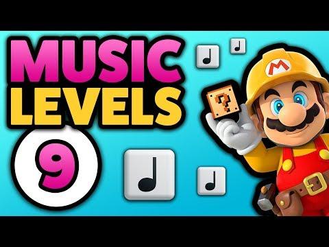 Super Mario Maker - MUSIC LEVELS [#9] - Tetris // Odyssey // SM64