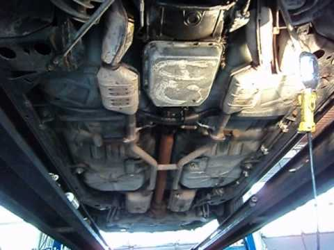 Stock Dual Exhaust Your Town Car Has Youtube