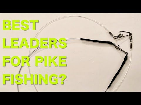 Whats the best leader for Pike fishing?! Fluorocarbon VS Titanium VS Steel