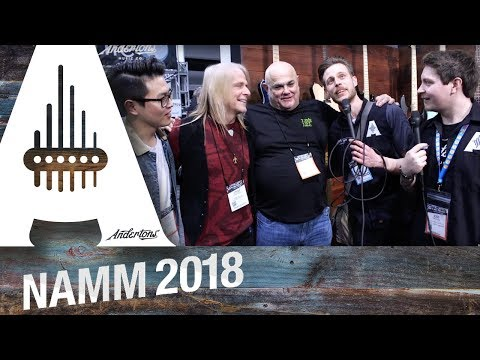 Ernie Ball & Music Man - with Sterling Ball & Steve Morse - NAMM 2018