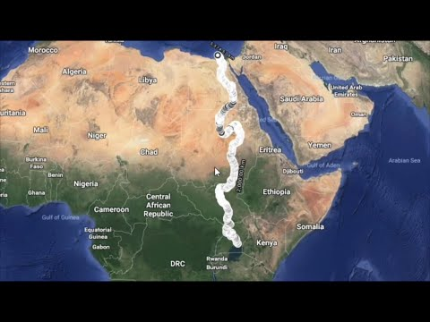 The Nile River / From Lake Victoria To The Mediterranean Sea
