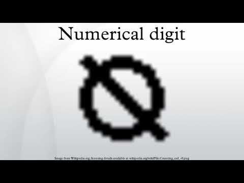 Numerical digit