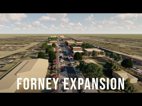 Main Street Expansion Vision for Forney, TX