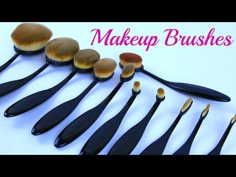 Кисти для макияжа с Aliexpress ❖  Набор овальных кистей | Karina Papag