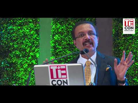 TiECON Kerala 2017-Dr. Azad Moopen, Chairman and M D, Aster DM Healthcare-Delivering Keynote address