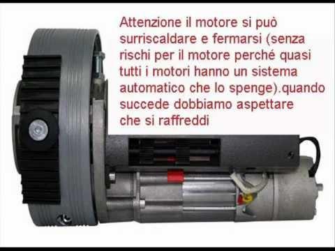 Schema Elettrico Motore Serranda : Motore serranda come regolare i fine corsa youtube