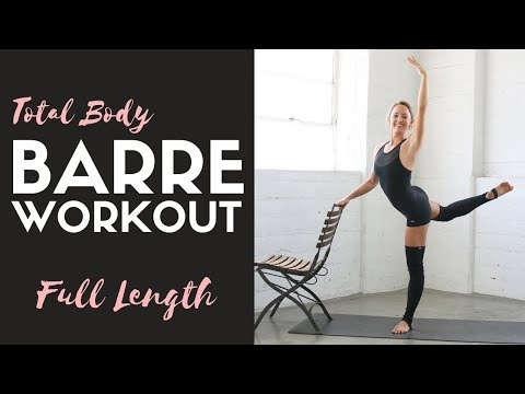 Full Length Total Body Barre Workout   40 Minutes
