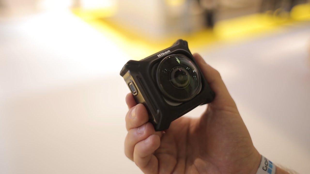 camera test Nikon keymission hands on test youtube