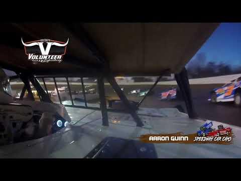 #97 Aaron Guinn - #Grinch40 Xtream Dirtcar Series - 12-7-19 Volunteer Speedway - In-Car Camera