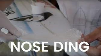 Surfboard Ding Repair Nose Big Ding Tutorial