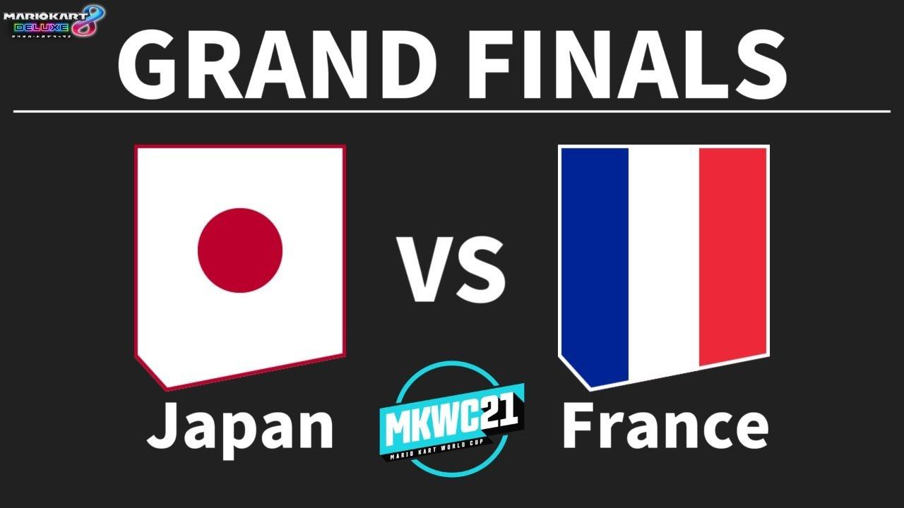 【マリオカート8DX】Japan vs France