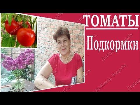 Подкормка томатов  до и после цветения.Чем подкормить томаты.