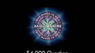 $4,000 Question - Who Wants to Be a Millionaire?