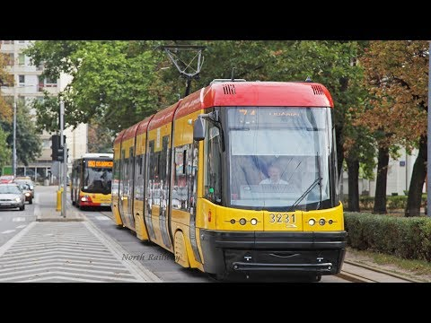 [Tramwaje w Warszawie] Trams in Warsaw / ワルシャワのトラム