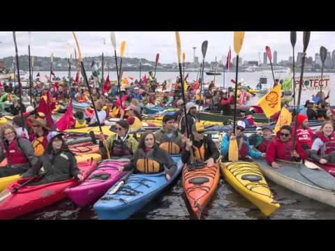 Shell No! Kayaktivism To Stop Arctic Offshore Drilling