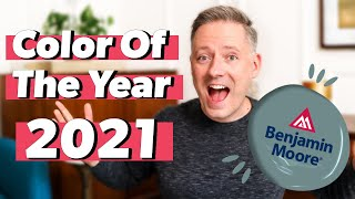 Benjamin Moore COLOR OF THE YEAR 2021 🔥  HOT Interior Design Color Trends for 2021!