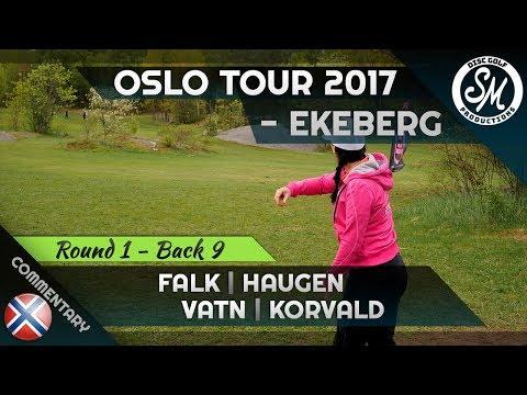 Oslo Tour 2017 | Ekeberg Round 1 Front 9 | Falk, Haugen, Vatn, Korvald (4K)