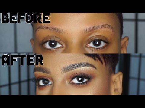 Updated Eyebrow Tutorial; How To Make Thin Brows Look ...