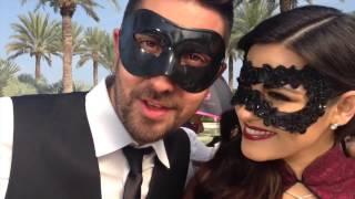 """Backstage: Maite Perroni e Alex Ubago nas gravações de """"Todo Lo Que Soy"""""""