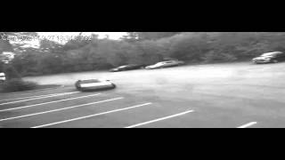 Security Footage of wreckless vehicle Thumbnail
