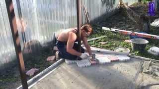 Азбука Ремонта - Укладка тротуарной плитки(, 2015-06-28T21:35:47.000Z)