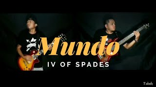 IV of Spades - Mundo (Guitar and Bass Rock Cover) ft. Dean Mark | (c) THE ULTIMATE HEROES